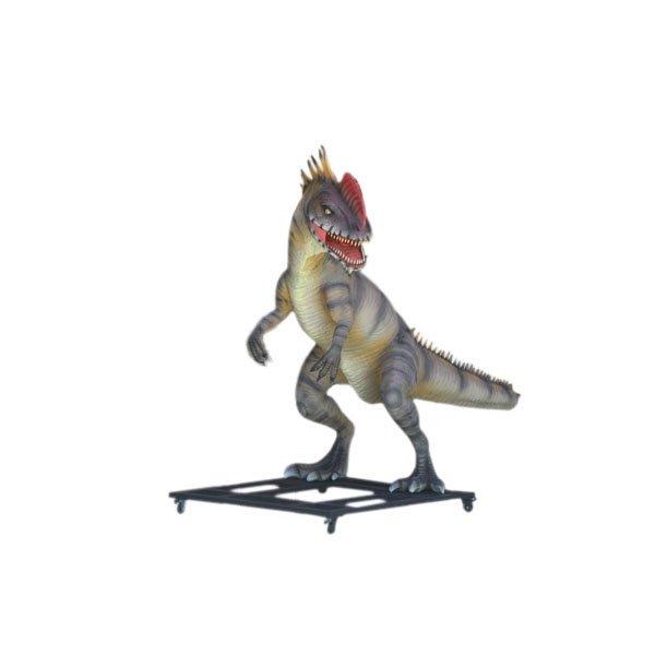 Custom Made Life Size Monophosaurus 9' Dinosaur Statue
