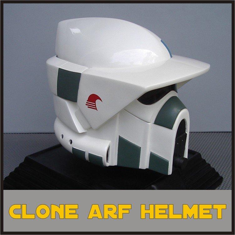 Custom Made Star Wars Clone Trooper TCW ARF Adult Size Helmet Prop