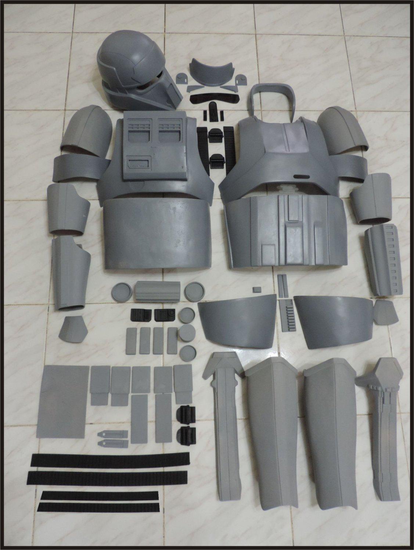 Custom Made Star Wars Scarif Shoretrooper Life Size Armor Prop Kit