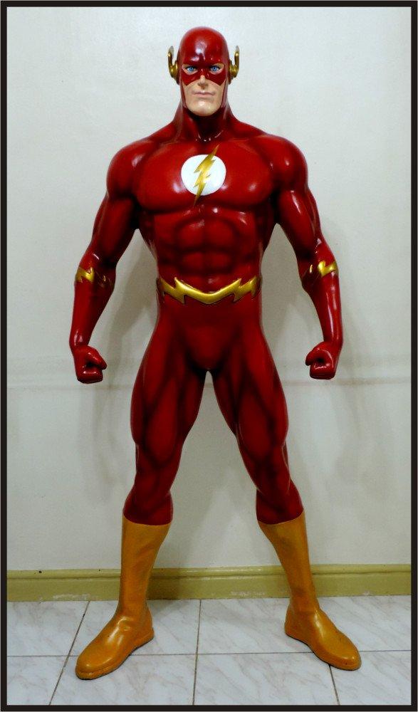 The Flash Custom Made Life Size Superhero Statue Prop