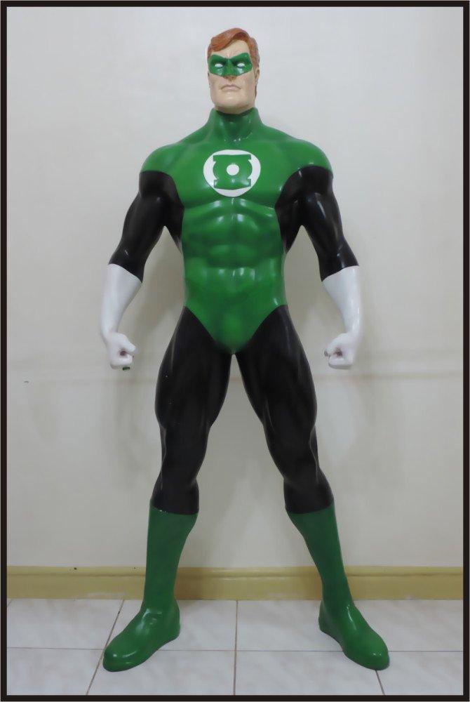 SALE: The Green Lantern Custom Made Life Size Superhero Statue Prop