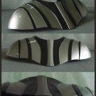 Custom Made Star Wars Darth Vader Chest Armor ROTS Medium Size Armor Prop: Silver