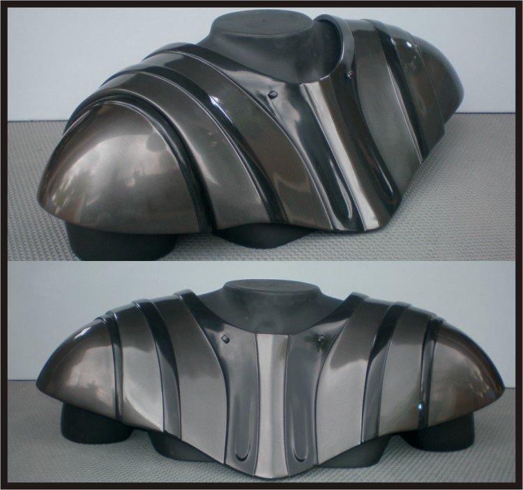 Custom Made Star Wars Darth Vader Chest Armor ROTS Medium Size Armor Prop: Gray