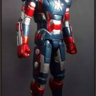 Custom Made Life Size Iron Man War Machine-Iron Patriot Superhero Statue Prop