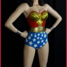 Custom Made Life Size Lynda Carter Wonder Woman Season 1 Statue Prop