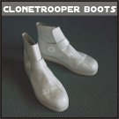 Custom Made Clone Trooper Boots Sizes 7-14 Plain White or Colors