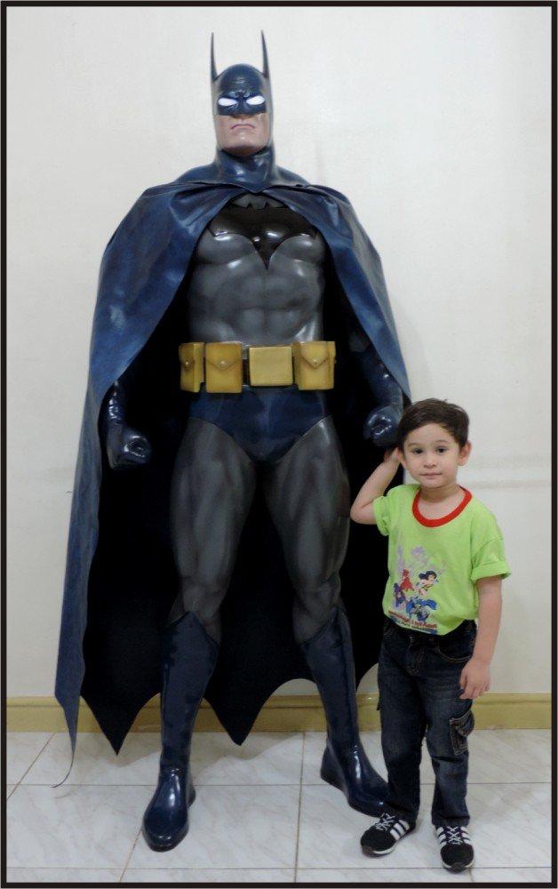 SALE: Custom Made Life Size Jim Lee Batman Statue Prop