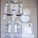 Custom Made TFA Snowtrooper Armor Life Size Armor and Helmet Prop Wholesale 5pc Lot