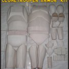 Custom Made Star Wars Clone trooper Phase 1-2 Armor Life Size Armor Prop Kit Wholesale 10 Set Lot