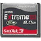 SanDisk - Extreme III 8GB CompactFlash Memory Card