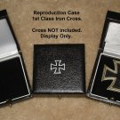 WW1-WW2 German Presentation Case for 1st Class Iron Cross, Reproduction, Case Only