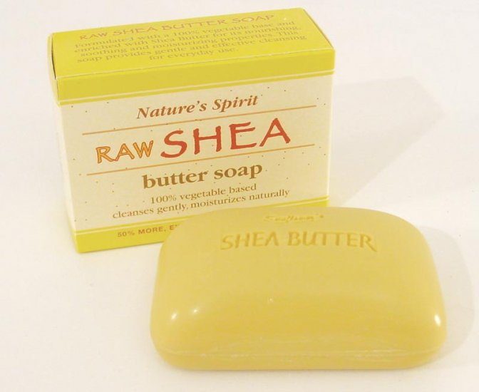 100% PURE RAW SHEA BUTTER SOAP