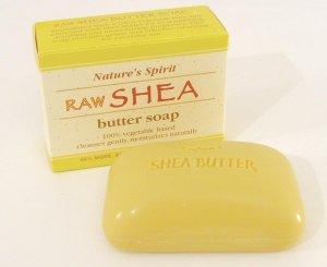 100% PURE RAW SHEA BUTTER SOAP