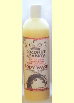COCOANUT & PAPAYA BODY WASH
