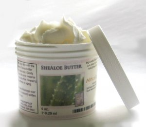 SHEALOE BUTTER  -  4 oz