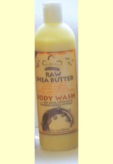 RAW SHEA BUTTER BODY WASH - 13 oz.