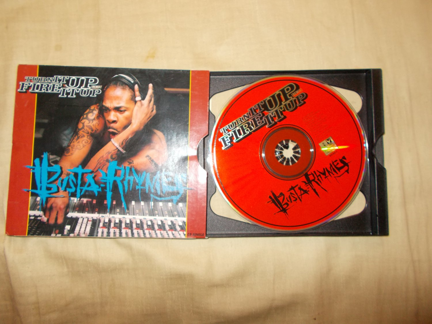 Turn It Up Fire It Up Remix Bustya Rhymes  Music Cd
