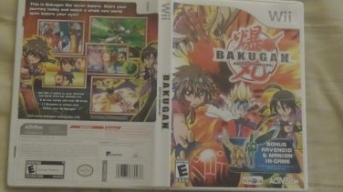 Nintendo Wii Bakugan:Battle Brawlers