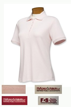 M&A Fitted Polo Shirt (Women's)