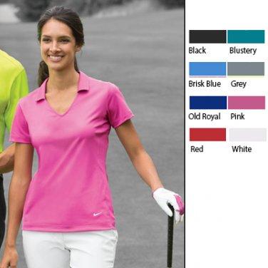 Ladies Nike Golf Vertical Mesh Polo