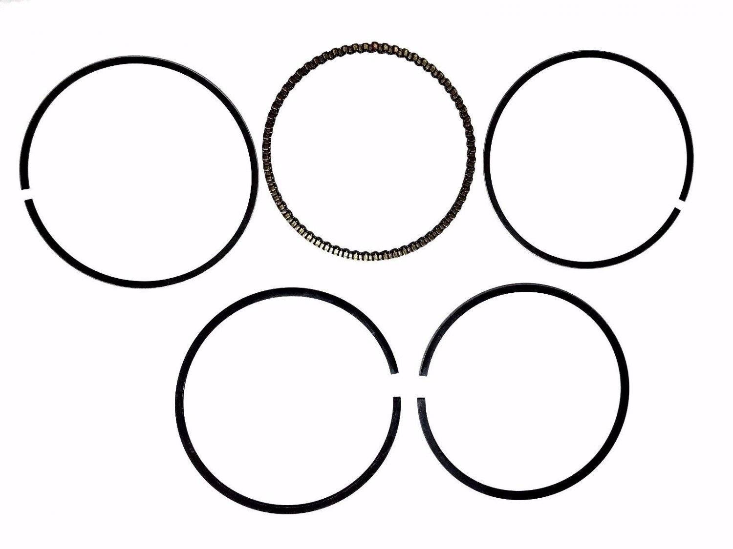 PISTON RINGS HAMMERHEAD TOMBERLIN CARTER TALON DAZON ASW 150 150CC GO KART BUGGY