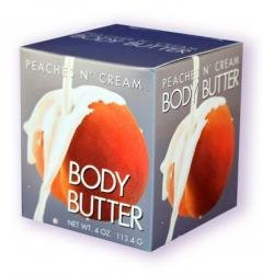 Peaches and Cream 4 oz Doc Johnson Edible Body Butter