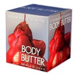 Strawberry Sundae 4 oz Doc Johnson Edible Body Butter