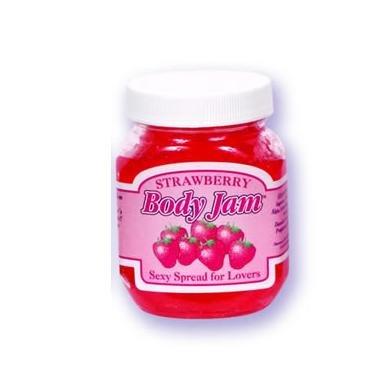 Strawberry Doc Johnson 4oz Edible Body Jam