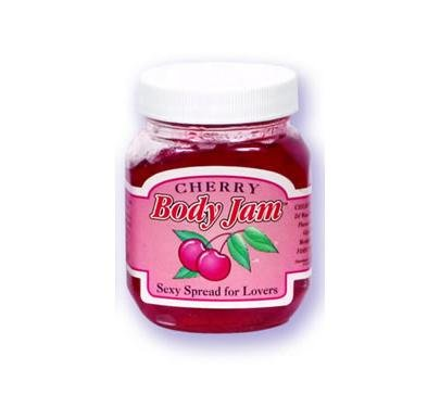 Cherry Doc Johnson 4oz Edible Body Jam