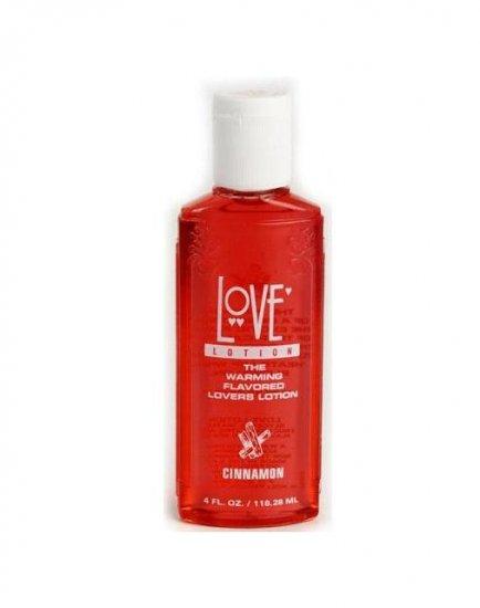 Cinnamon Doc Johnson 4oz Edible Love Lotion