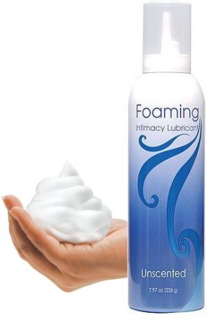 Unscented Foaming Intimacy Lubricant 7.97oz!