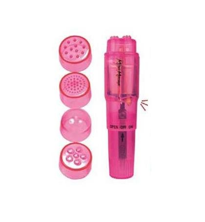 Pink Waterproof Pocket Rocket Massager