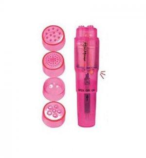 Pink Waterproof Pocket Rocket Massager