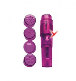 Purple Mini Massager Pocket Rocket! BONUS FREE BATTERY!