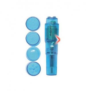 Blue Mini Massager Pocket Rocket! BONUS FREE BATTERY!