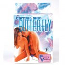 Virtual Skin Butterfly Clit Vibrator Strap On + Remote!