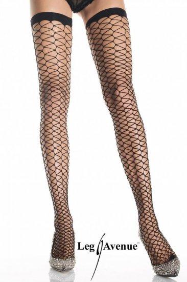 Leg Avenue Triangle Net Stockings!