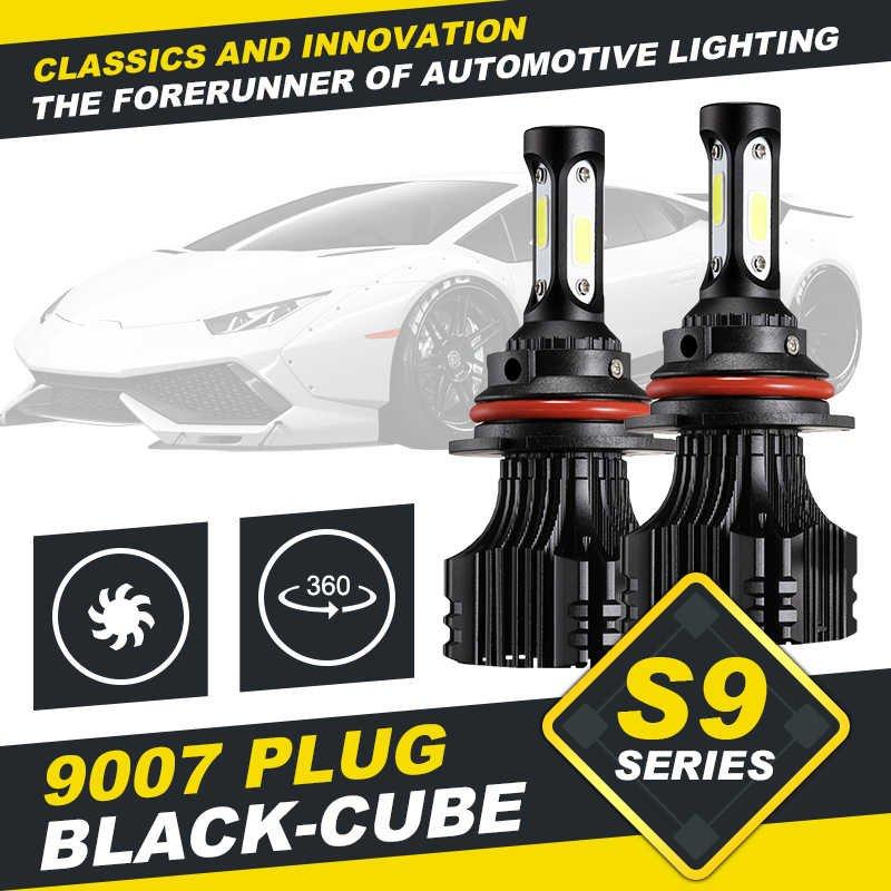 (2pcs/set) S9 Series 9007 Hi-lo Beam LED Headlight Conversion Bulb