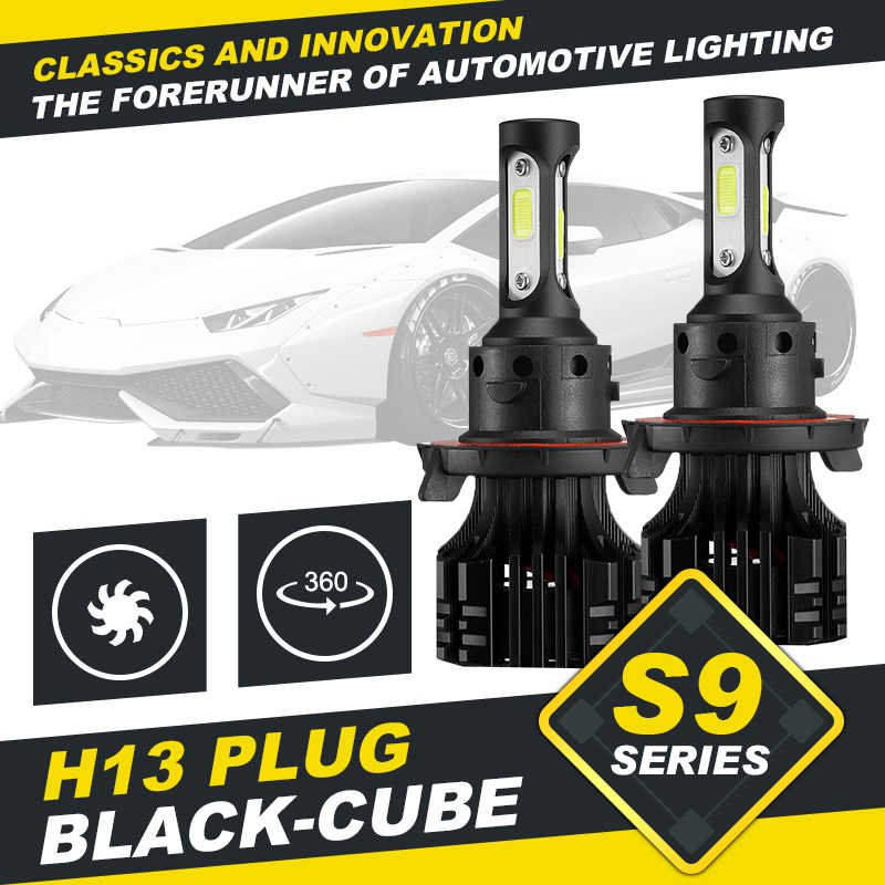 (2pcs/set) S9 Series H13/9008 Hi-lo Beam LED Headlight Conversion Bulb