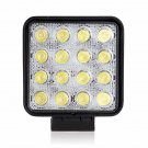 4.5 inch 48W Epistar Square Flood Beam LED Driving Light