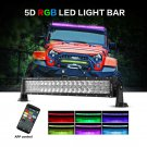 V-Series 22 inch 120W Combo Curved RGB LED Light Bar (5D Projector Lens)