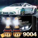 (2PCS/SET) F-16 SERIES 9004 HI-LO BEAM LED HEADLIGHT CONVERSION BULB