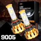 (2PCS/SET) F-16 SERIES 9005/HB3/H10 LED HEADLIGHT VEHICLE CONVERSION BULB