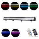 Cross-2 Series 45 inch 288W RGB Straight Combo Beam LED Light Bar (RGB Cross-style DRL)
