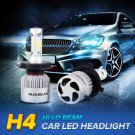 (2PCS/SET) S2 SERIES H4/9003/HB2 COB HI-LO BEAM HEADLIGHT CONVERSION BULB