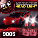 (2PCS/SET) S4 SERIES 9005/HB3/H10 LED HEADLIGHT VEHICLE CONVERSION BULB