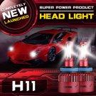 (2PCS/SET) S4 SERIES H11/H9/H8 LED LIGHT HEADLIGHT CONVERSION BULB