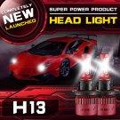 (2PCS/SET) S4 SERIES H13/9008 HI-LO BEAM LED HEADLIGHT CONVERSION BULB