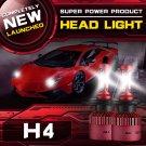 (2PCS/SET) S4 SERIES H4/9003/HB2 HI-LO BEAM LED HEADLIGHT CONVERSION BULB