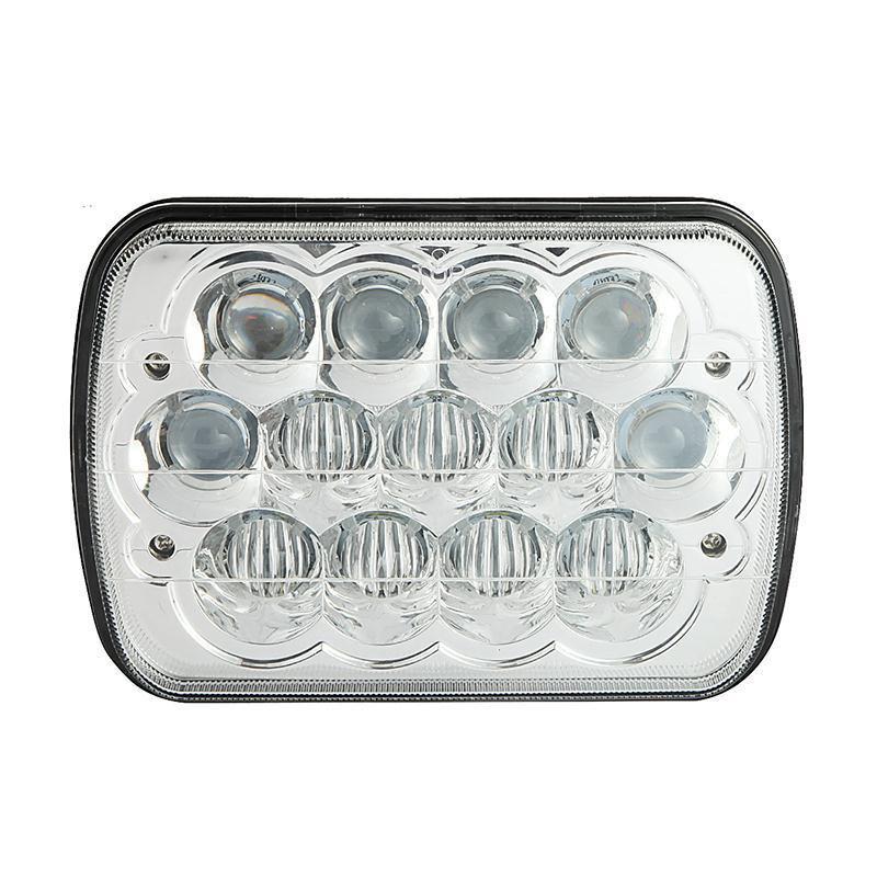 5x7 inch 39W CREE Hi-lo Beam Sealed Beam Headlight with Atmosphere Light